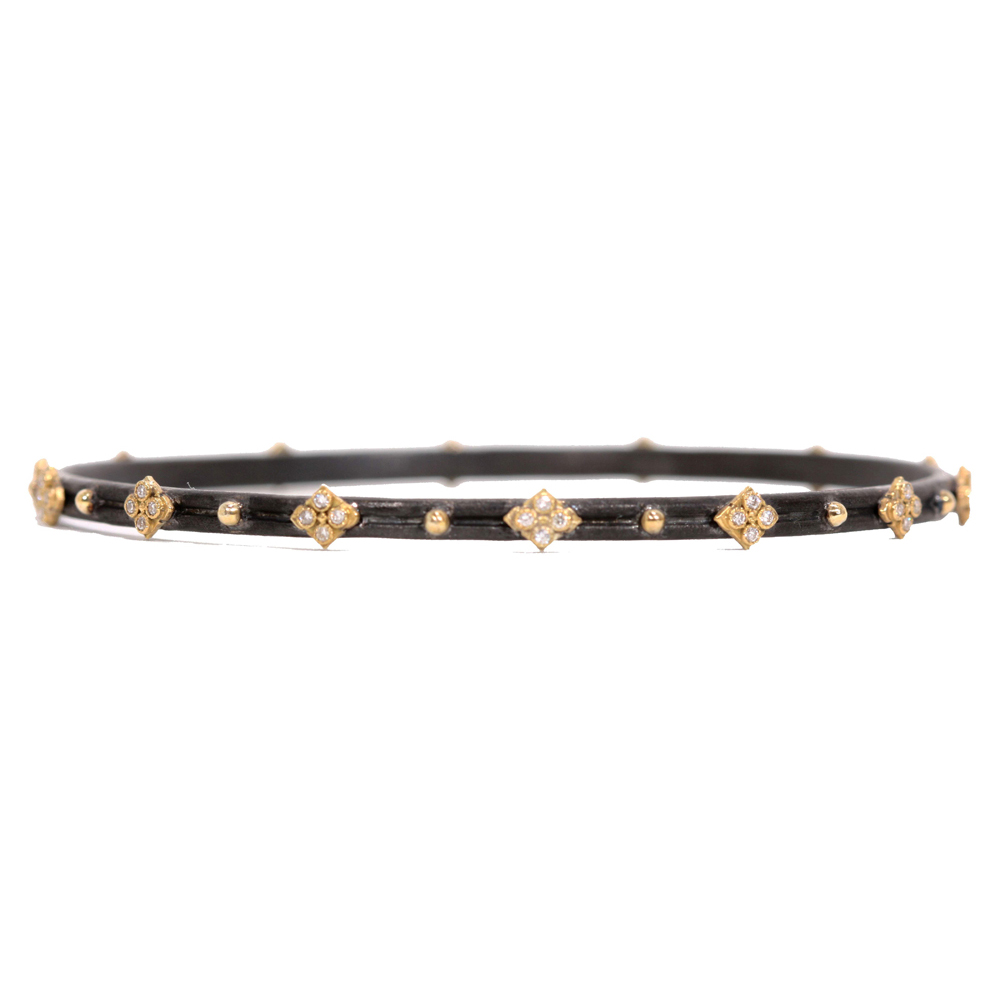 Skinny Crivelli Diamond Bangle