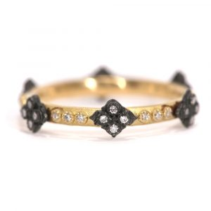 Crivelli Diamond Stack Ring