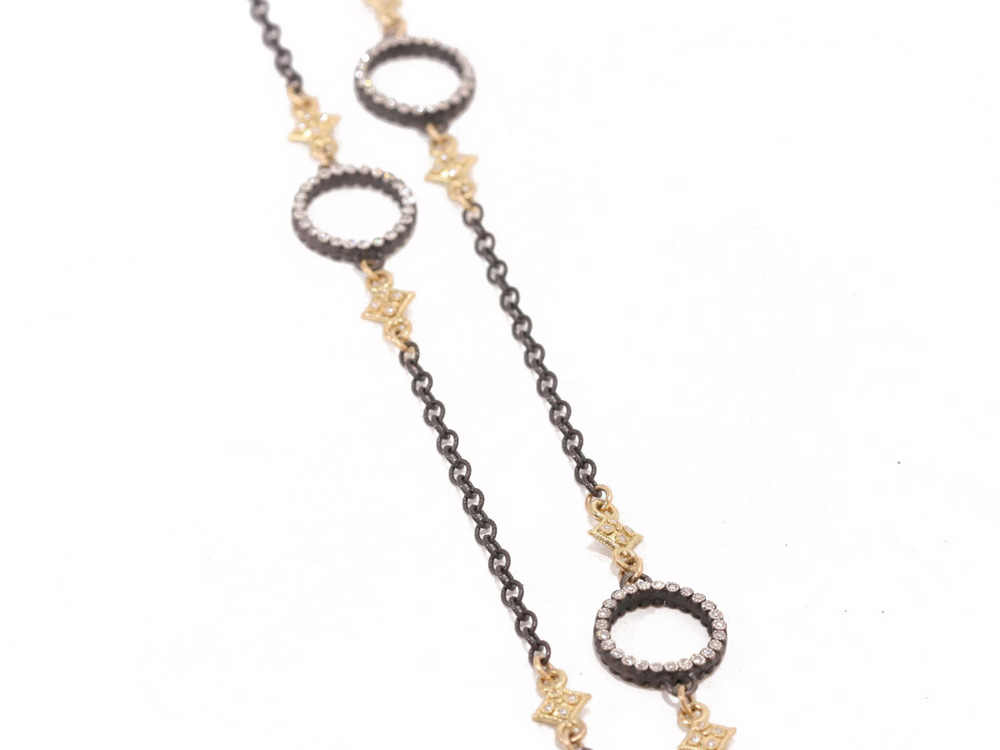 Diamond Circle Chain