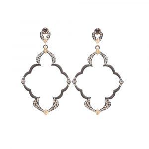 Dulcinea Open Wing Diamond Earrings