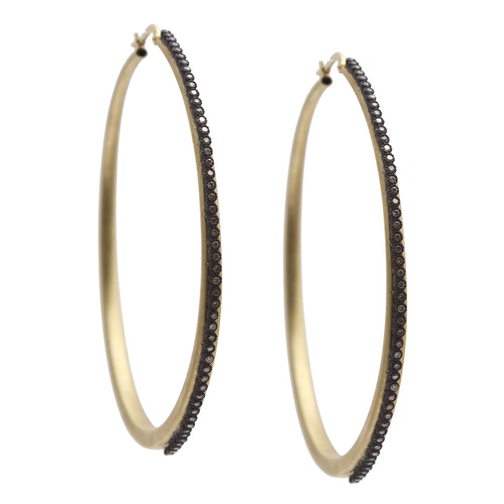 Diamond Hoop Earring