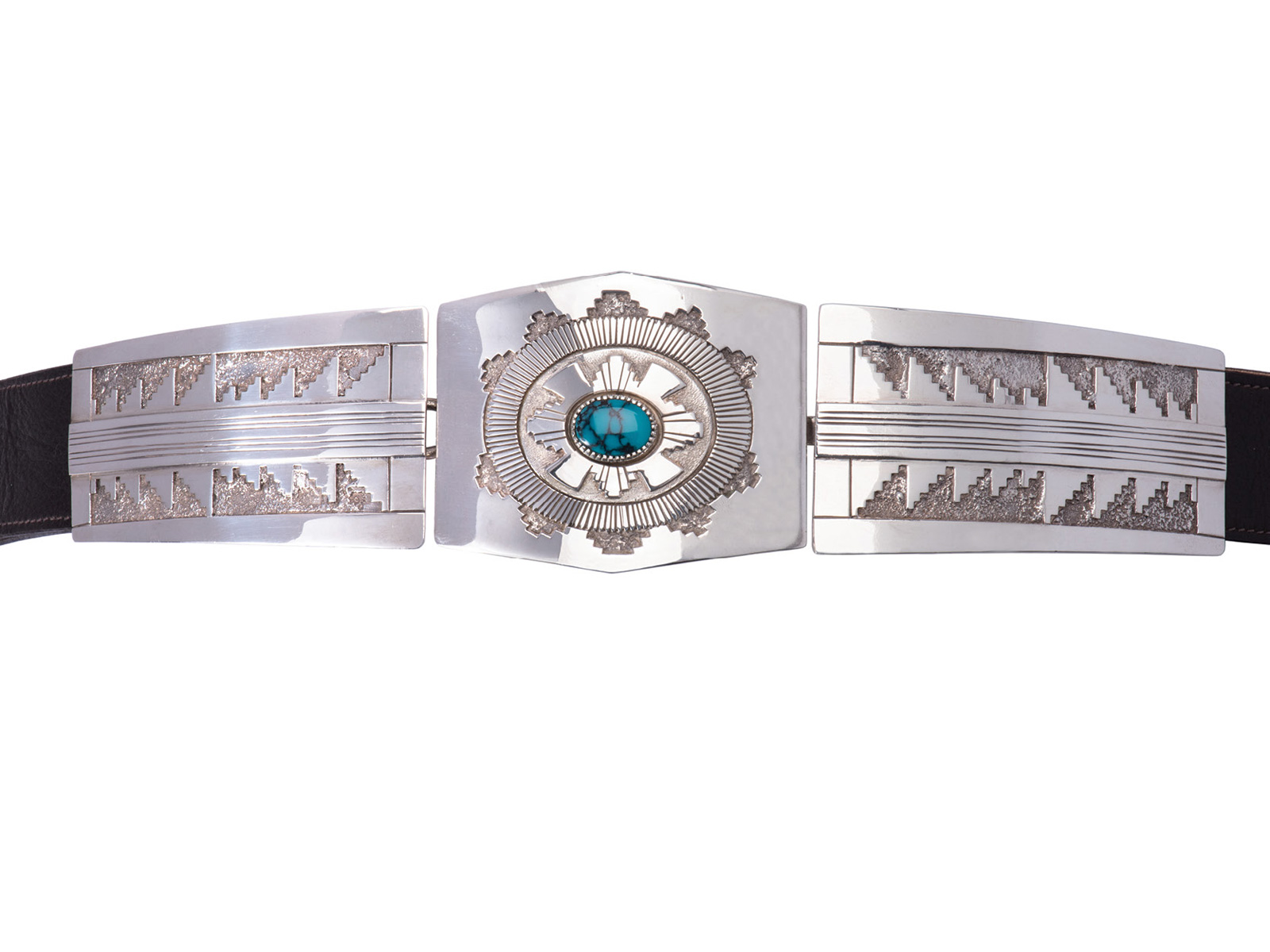 Three Piece Silver Belt