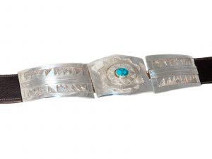 Three Piece Silver Belt