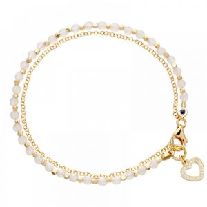 Rose Quartz Friendship Bracelet