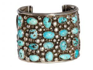 men's turquoise cuff