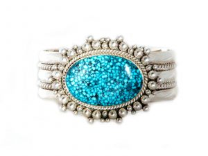 women's turquoise cuff
