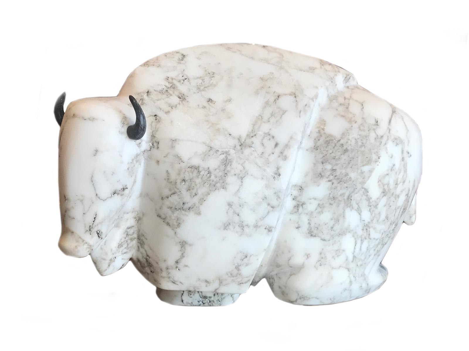 Alabaster-Buffalo-Carving-2