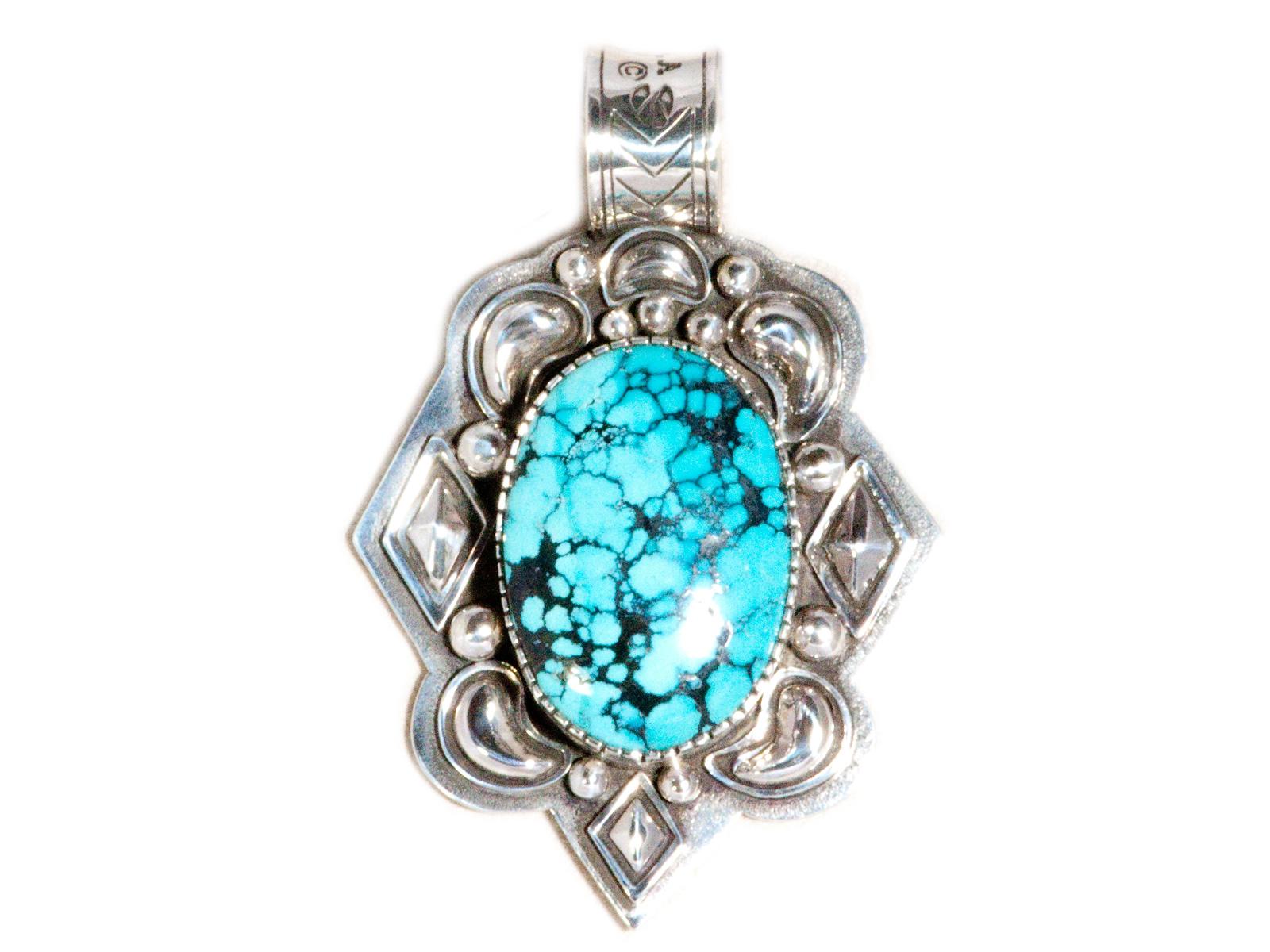 Chinese Turquoise Pendant