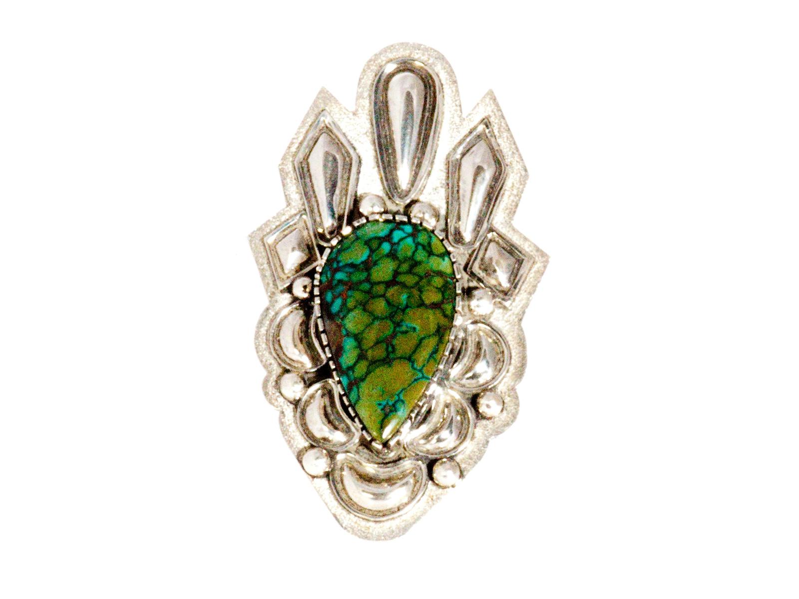 Villa Grove Turquoise Ring