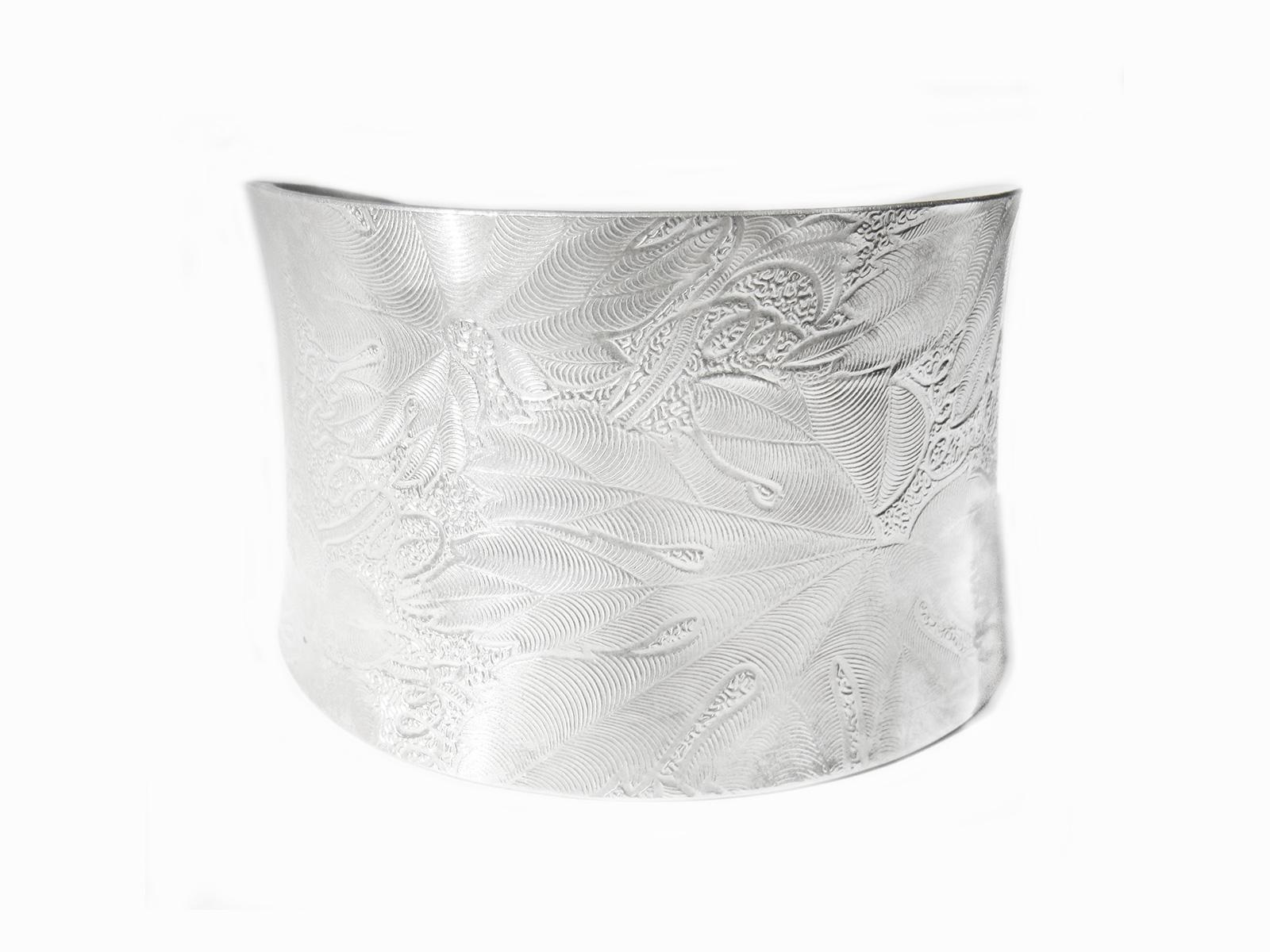 Anticlastic Silver Cuff
