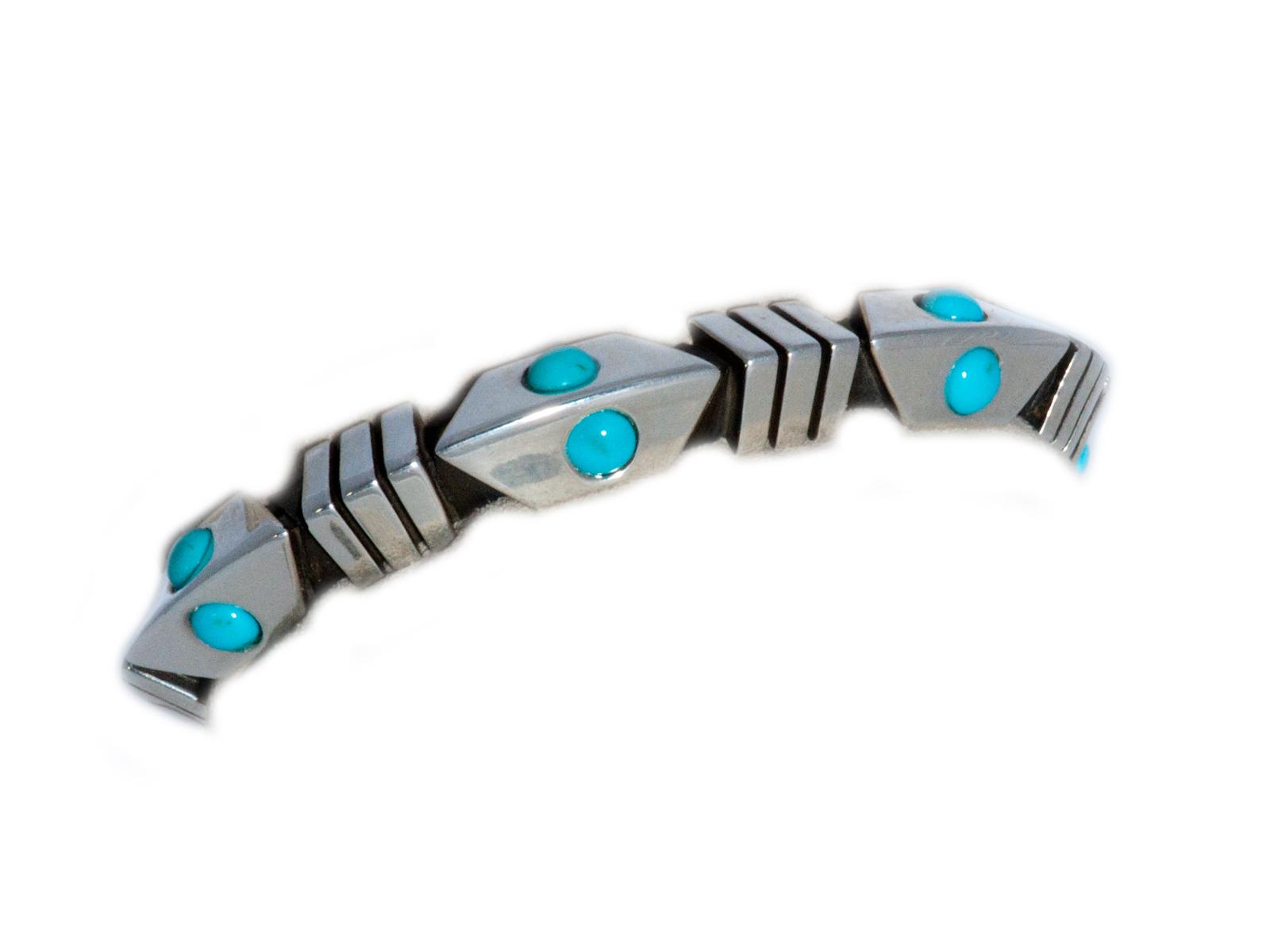 Arrowhead Turquoise Cuff
