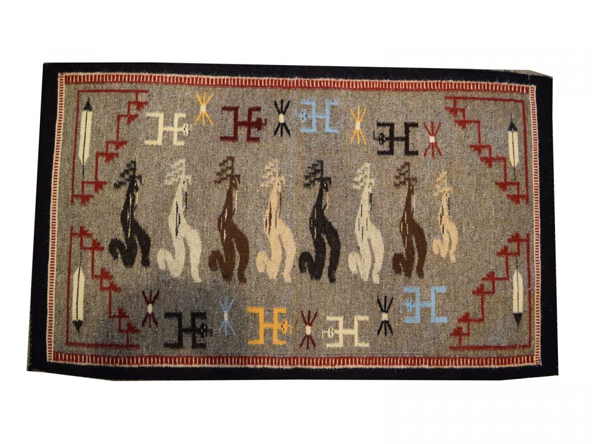 Kokopelli Pictorial Contemporary Navajo