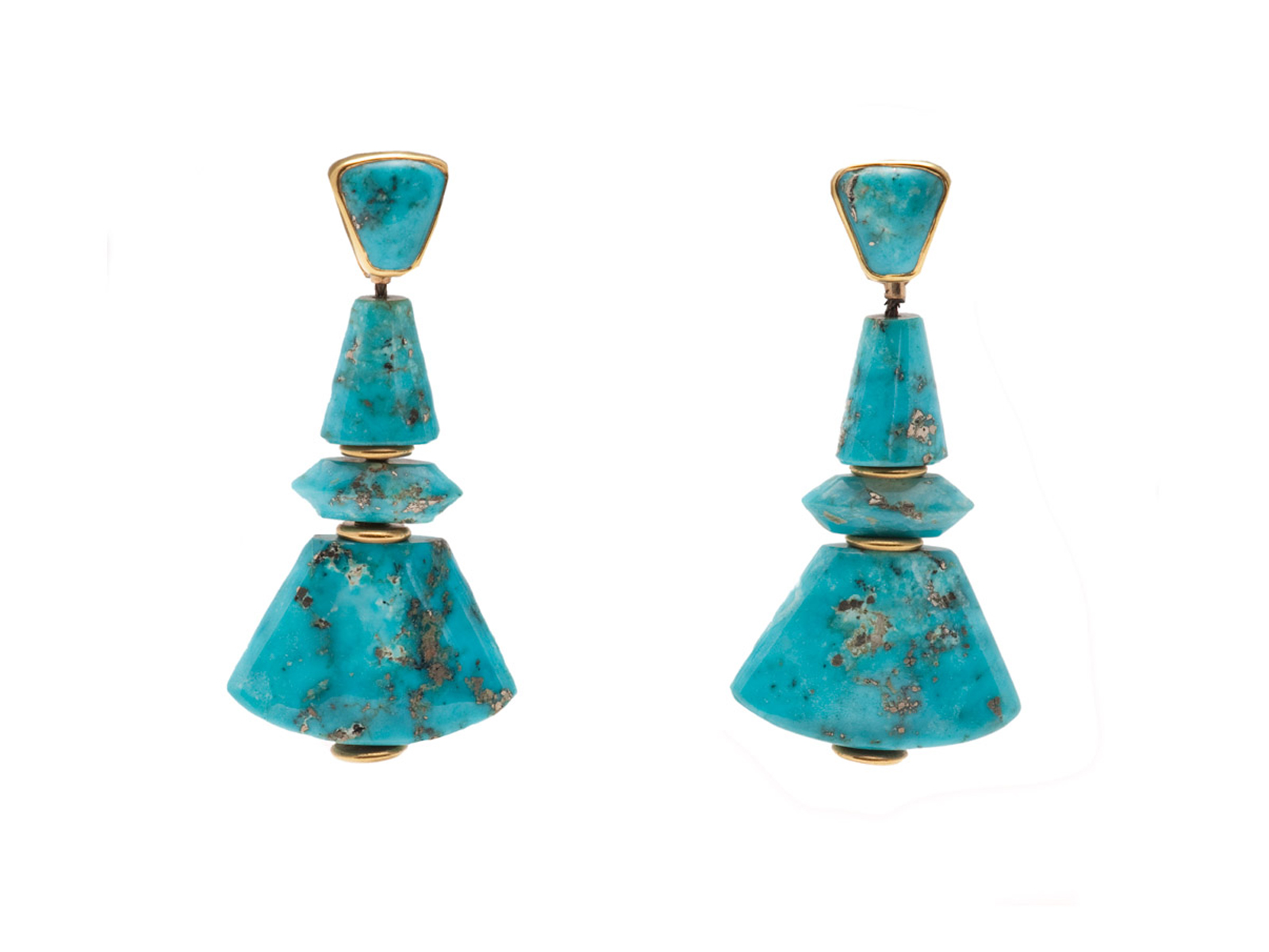 Morenci Turquoise Earrings