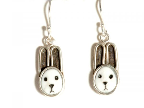 baby bunny earrings