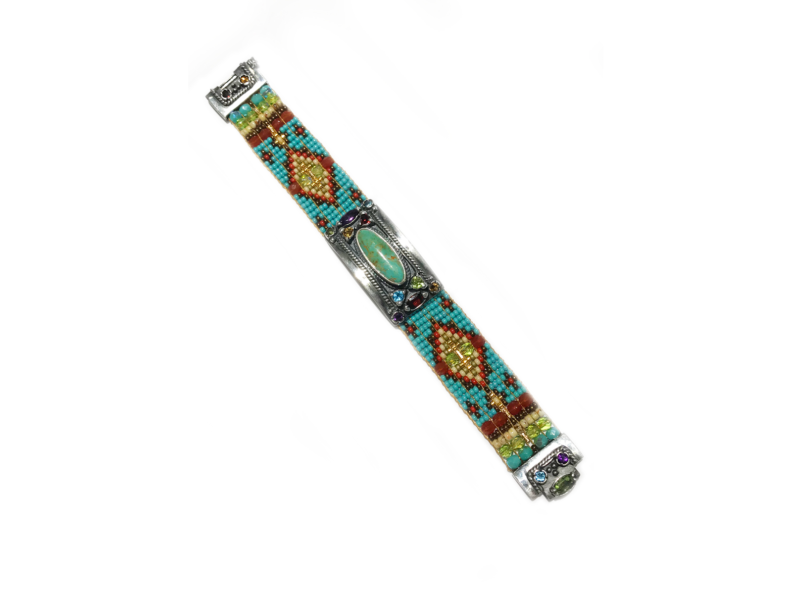 Green Turquoise Cowgirl Beaded Bracelets