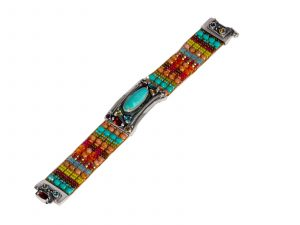 Beaded Cowgirl Bracelet