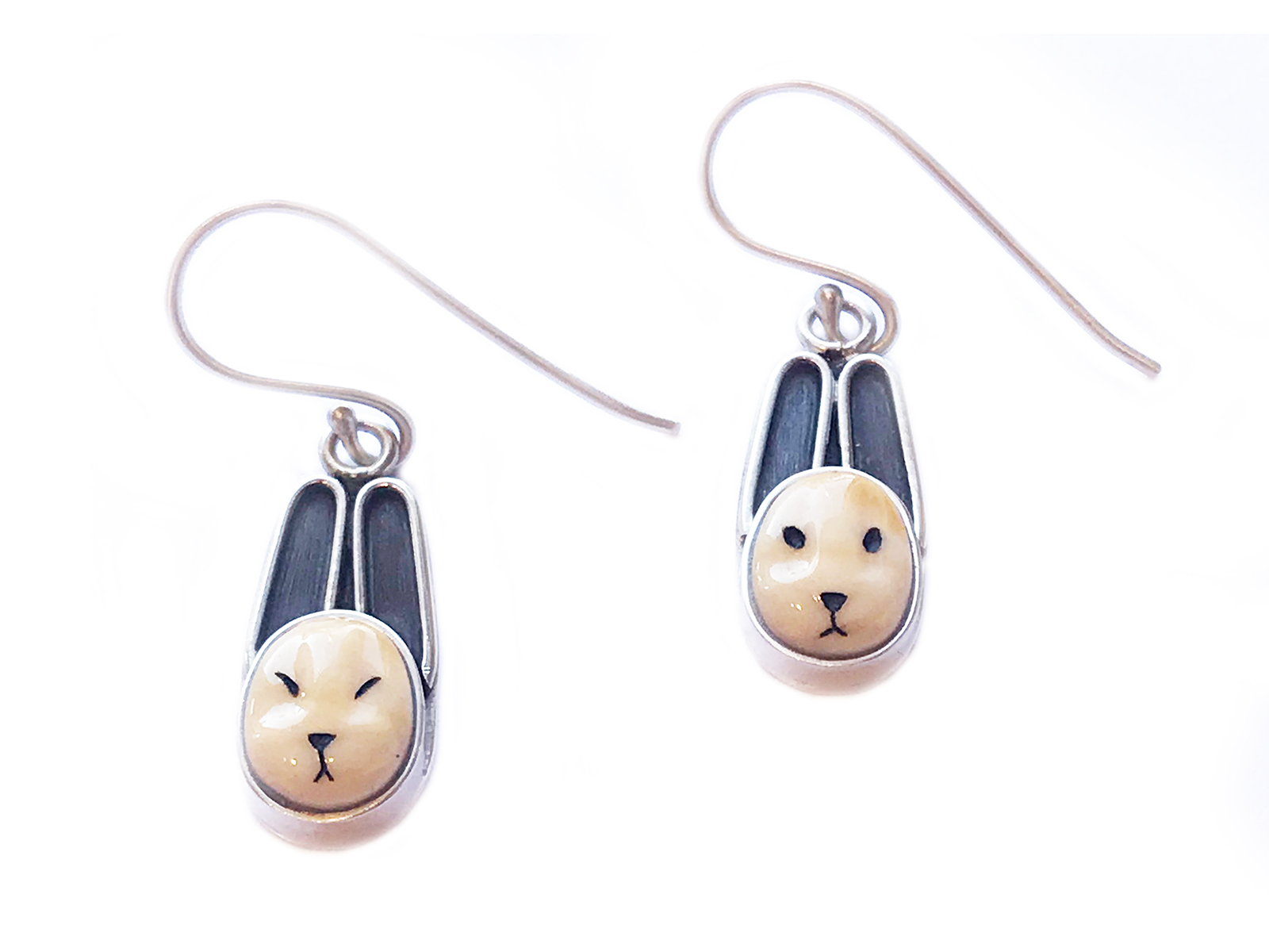 Bunny Dangle Earrings