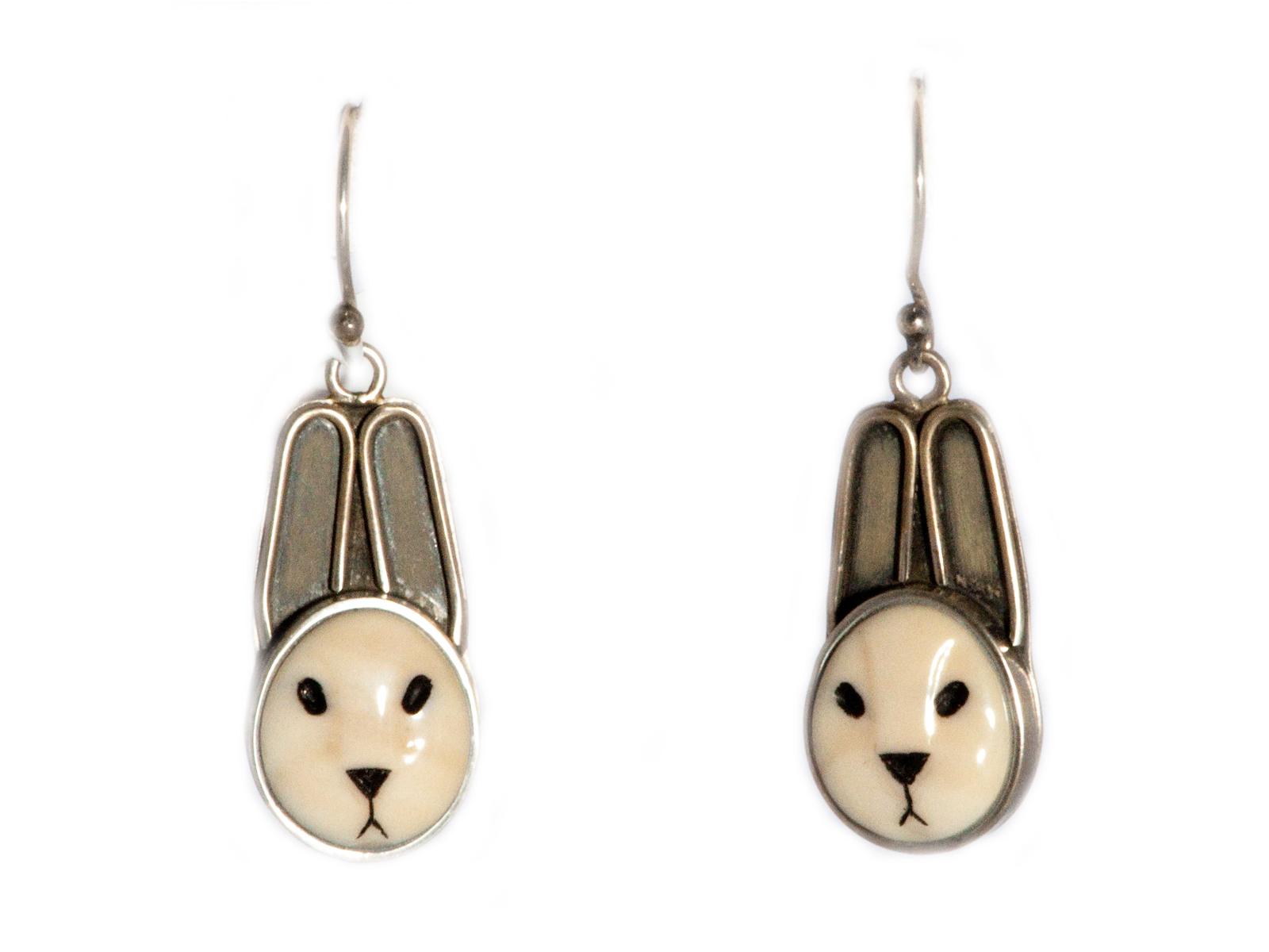 Bunny Dangle Earrings