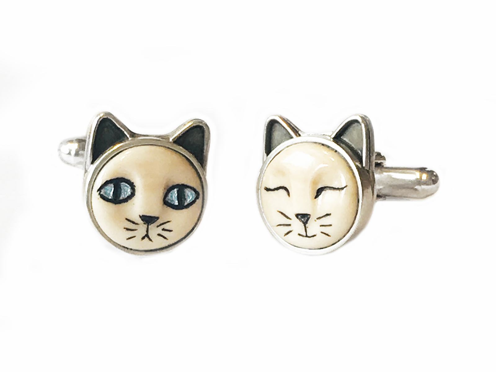 Cat Cuff Links
