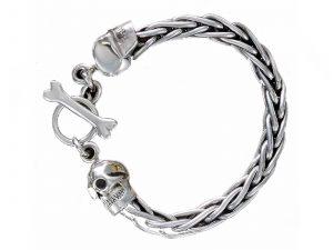 Chained Skull Bracelet