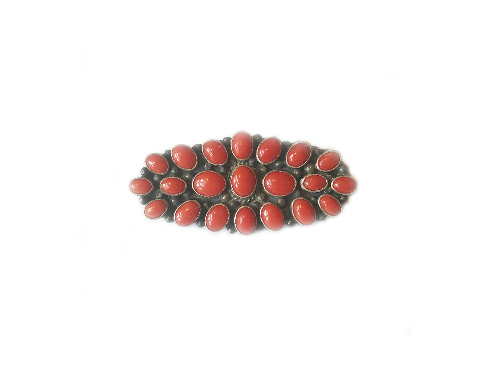 Coral Cluster Pin Pendant