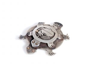 Double Turtle Pin
