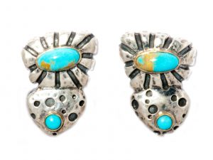 Dian Malouf Clip On Earrings