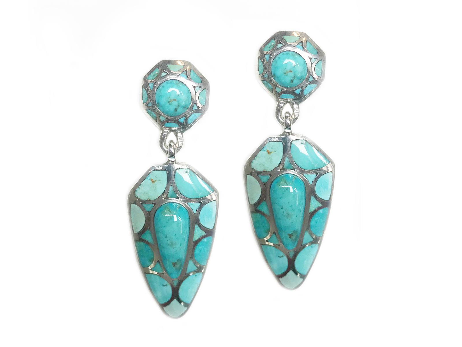 Kingman Post Dangle Earring