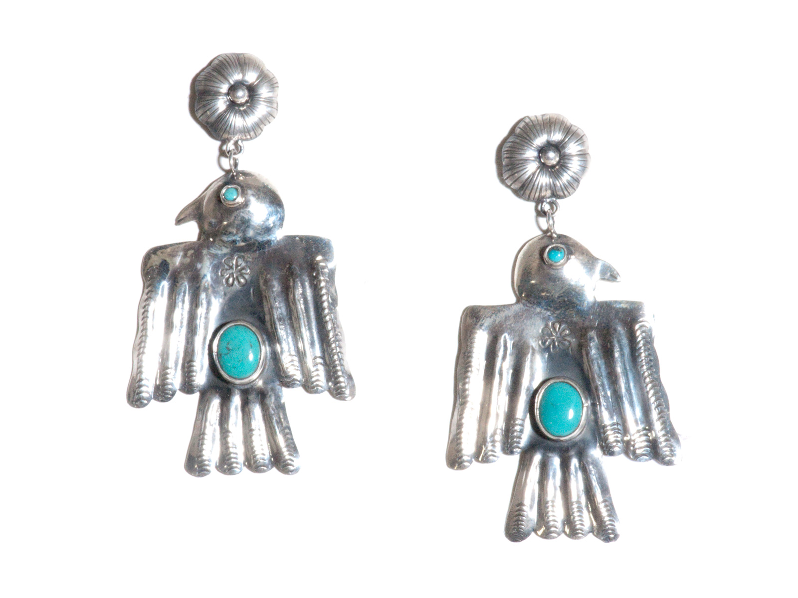 Thunderbird Dangle Earrings