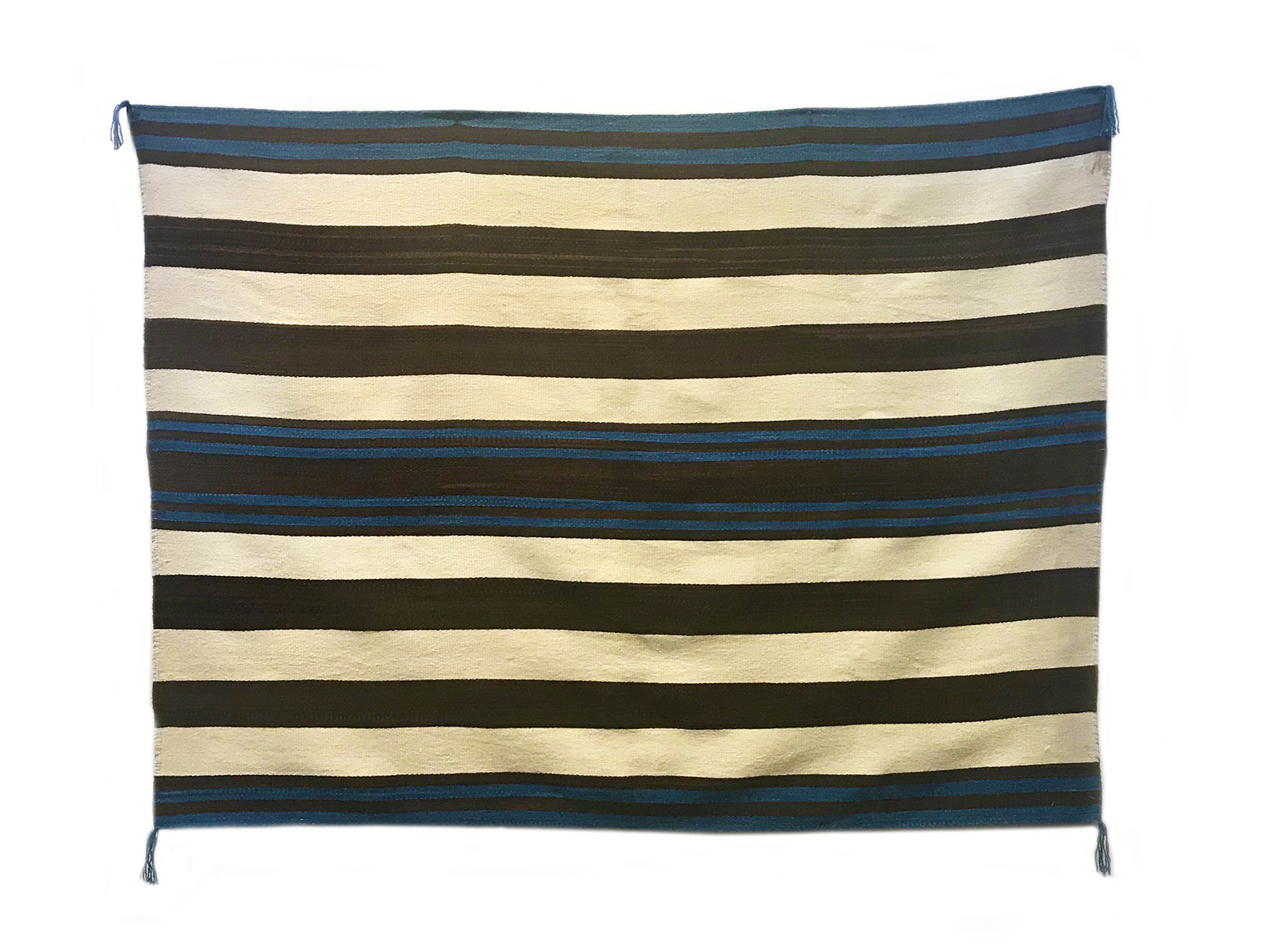 Contemporary Navajo Weaving: First Phase Chief's Blanket, 4'3