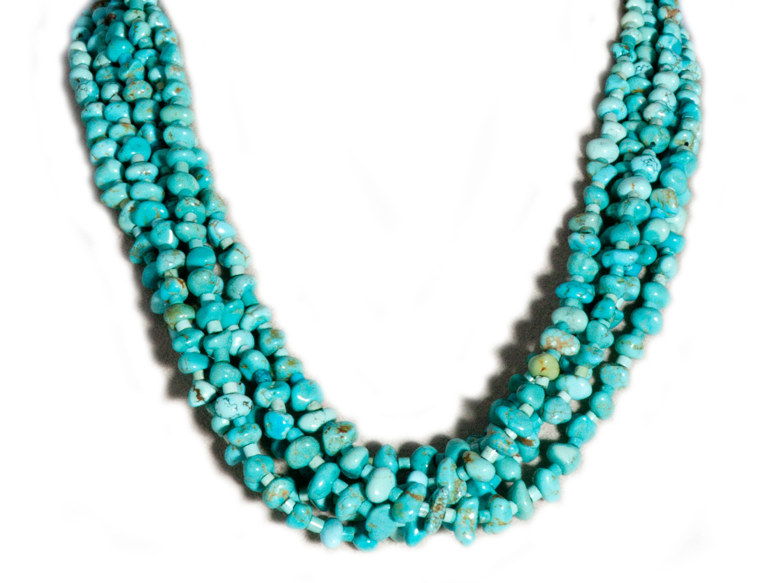 turquoise arrival product row rainbowfamily beads from new com dhgate jewellery multi jewelry necklace