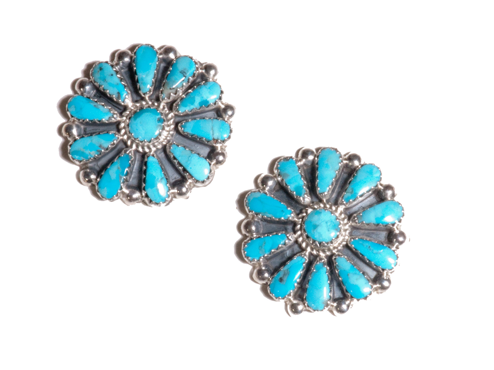 nellie earrings bly american blue turquoise format native deep