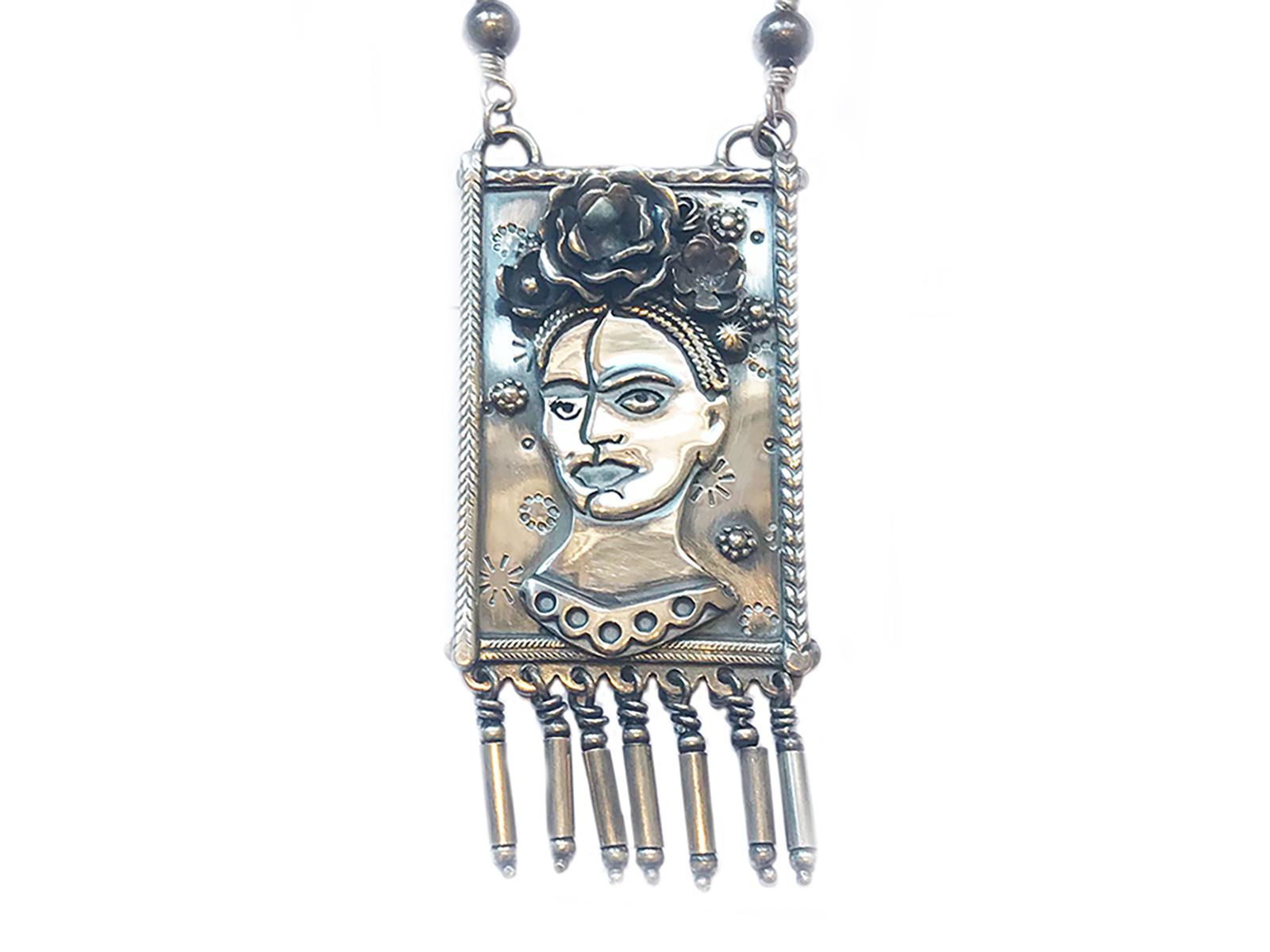 Sterling Silver Frida Necklace