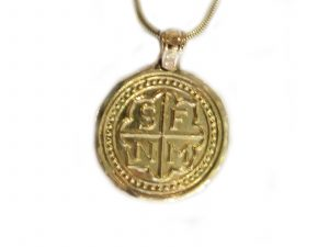 Gold Santa Fe Medallion