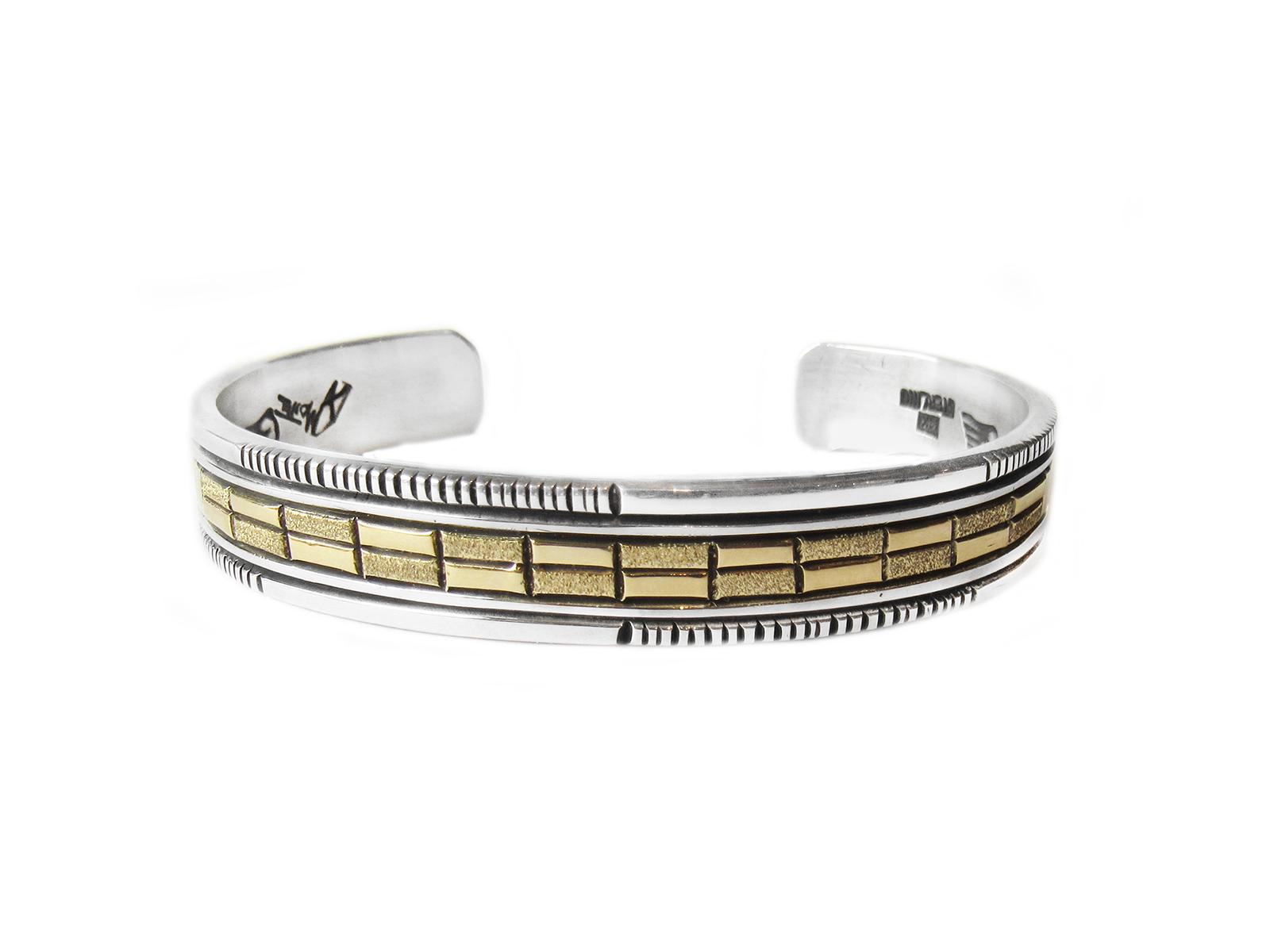 Silver Gold Cuff