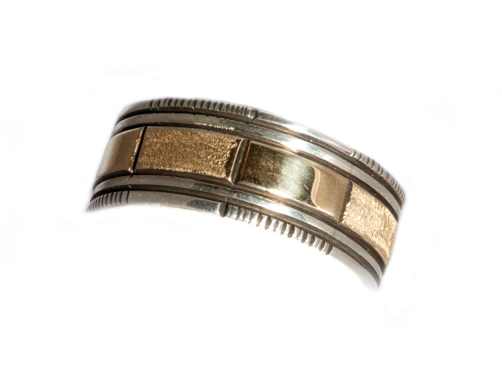 Navajo Gold and Silver Band