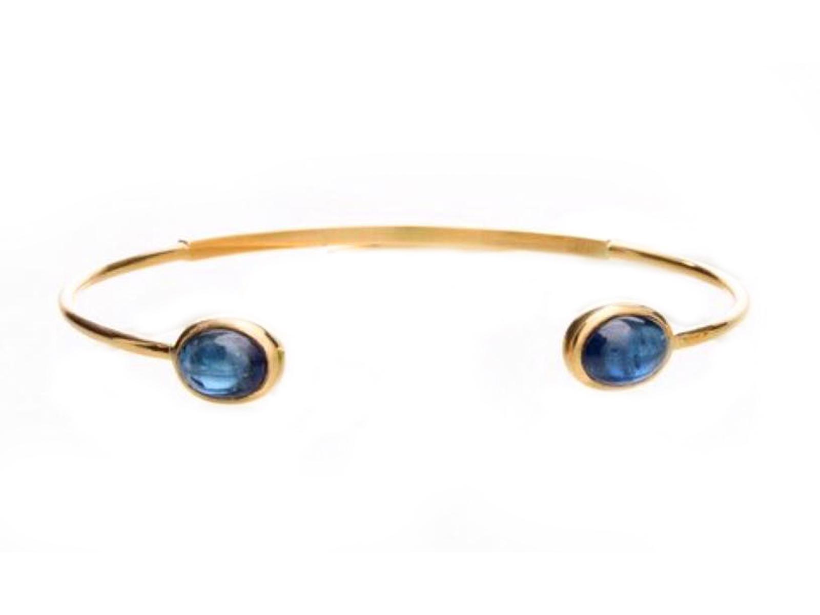 Blue Sapphire Cuff