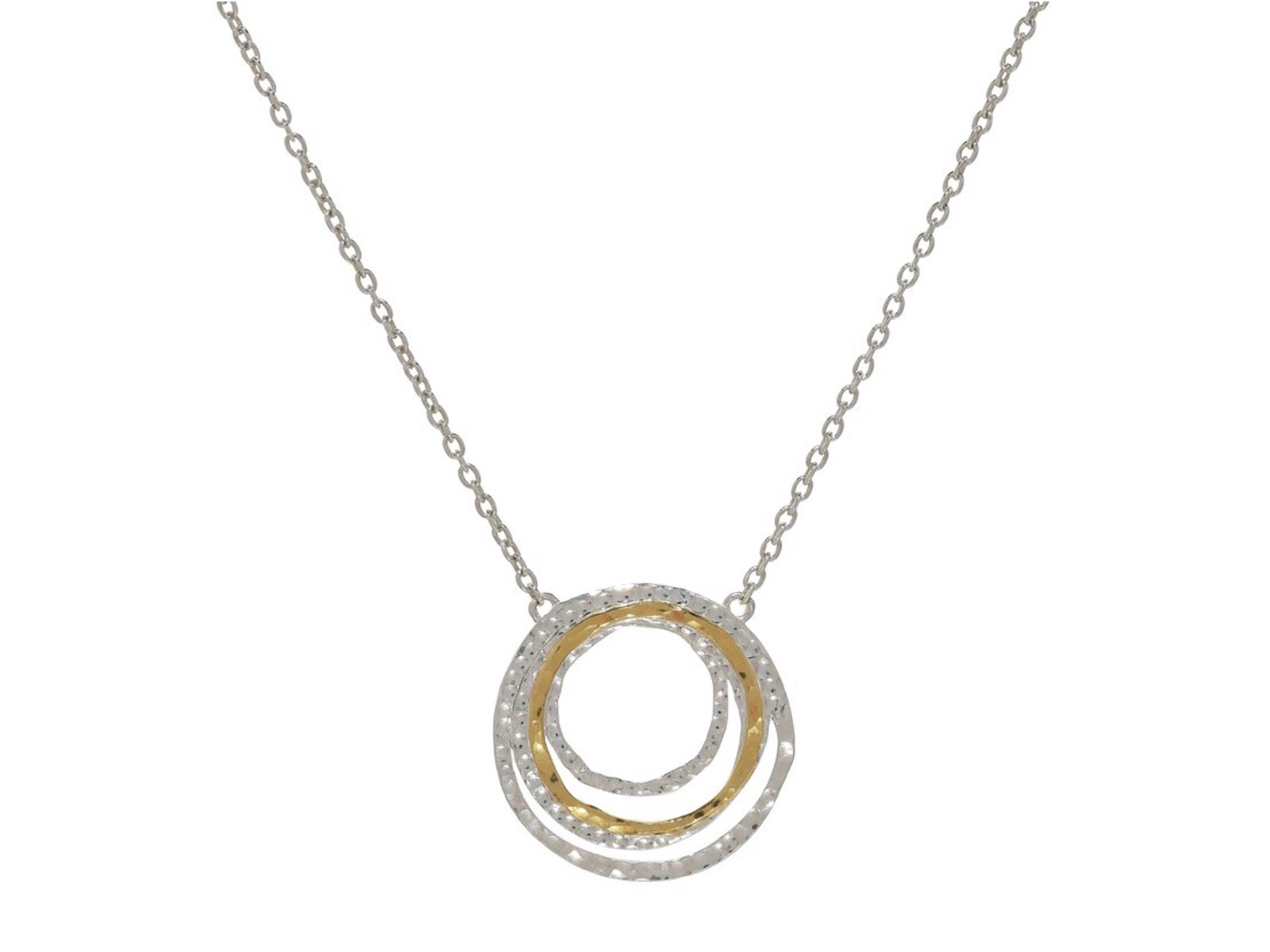 Graduated Rings Necklace