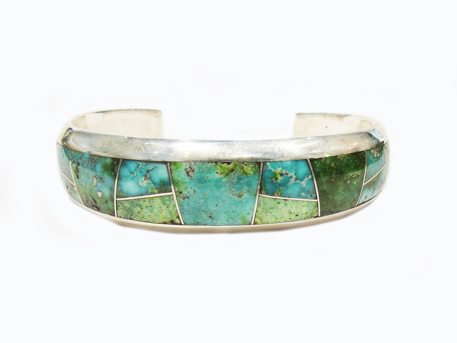 Blue Green Turquoise Cuff