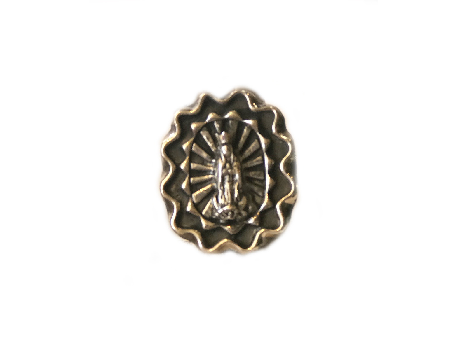 Silver Lady of Guadalupe Ring