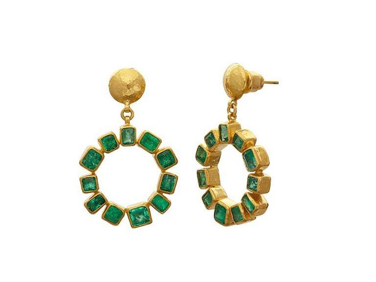Gurhan Emerald Earrings