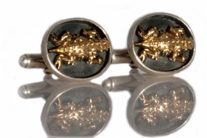 Horned Toad Cuff Links