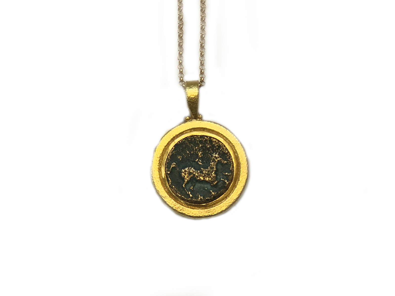 Philip II Of Macedon Coin Pendant