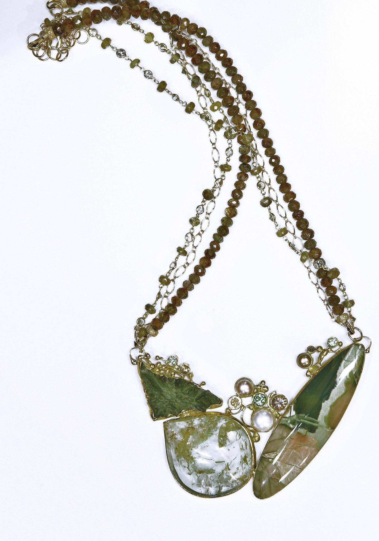 Mint Julep Necklace