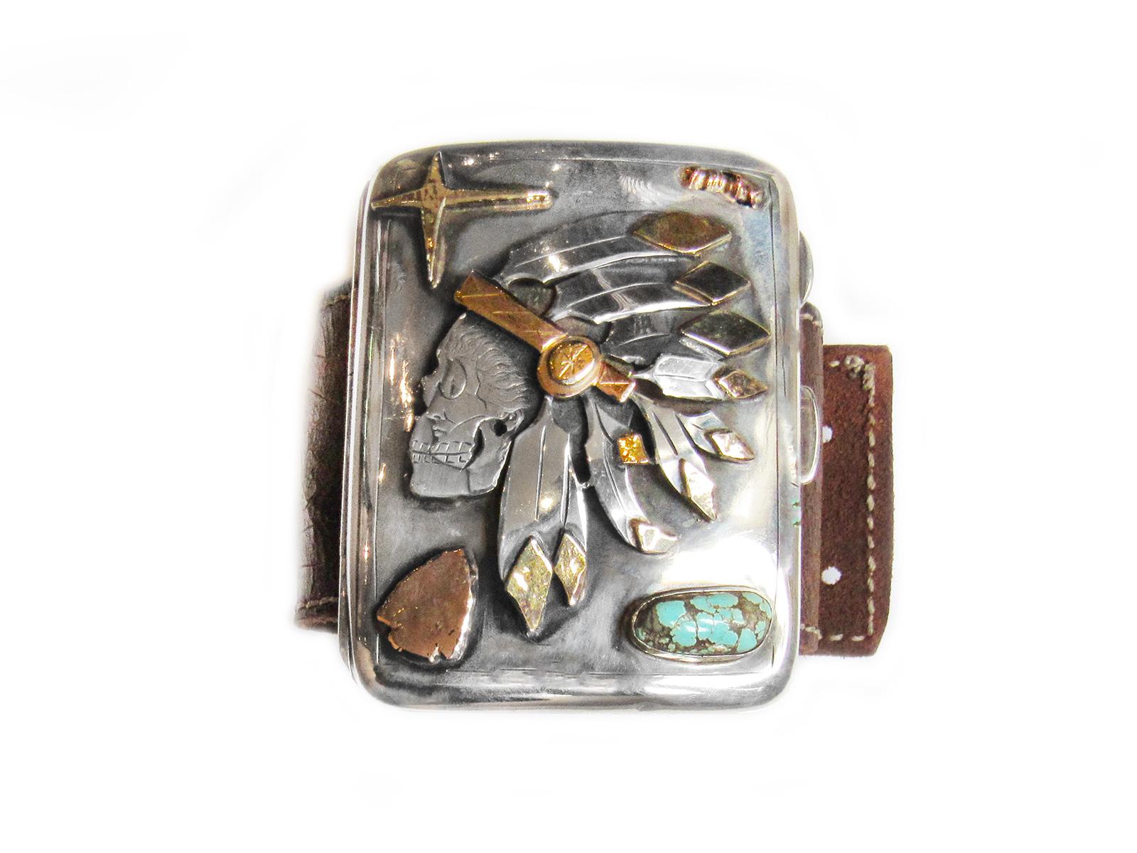 Indian Chief Headress Bracelet
