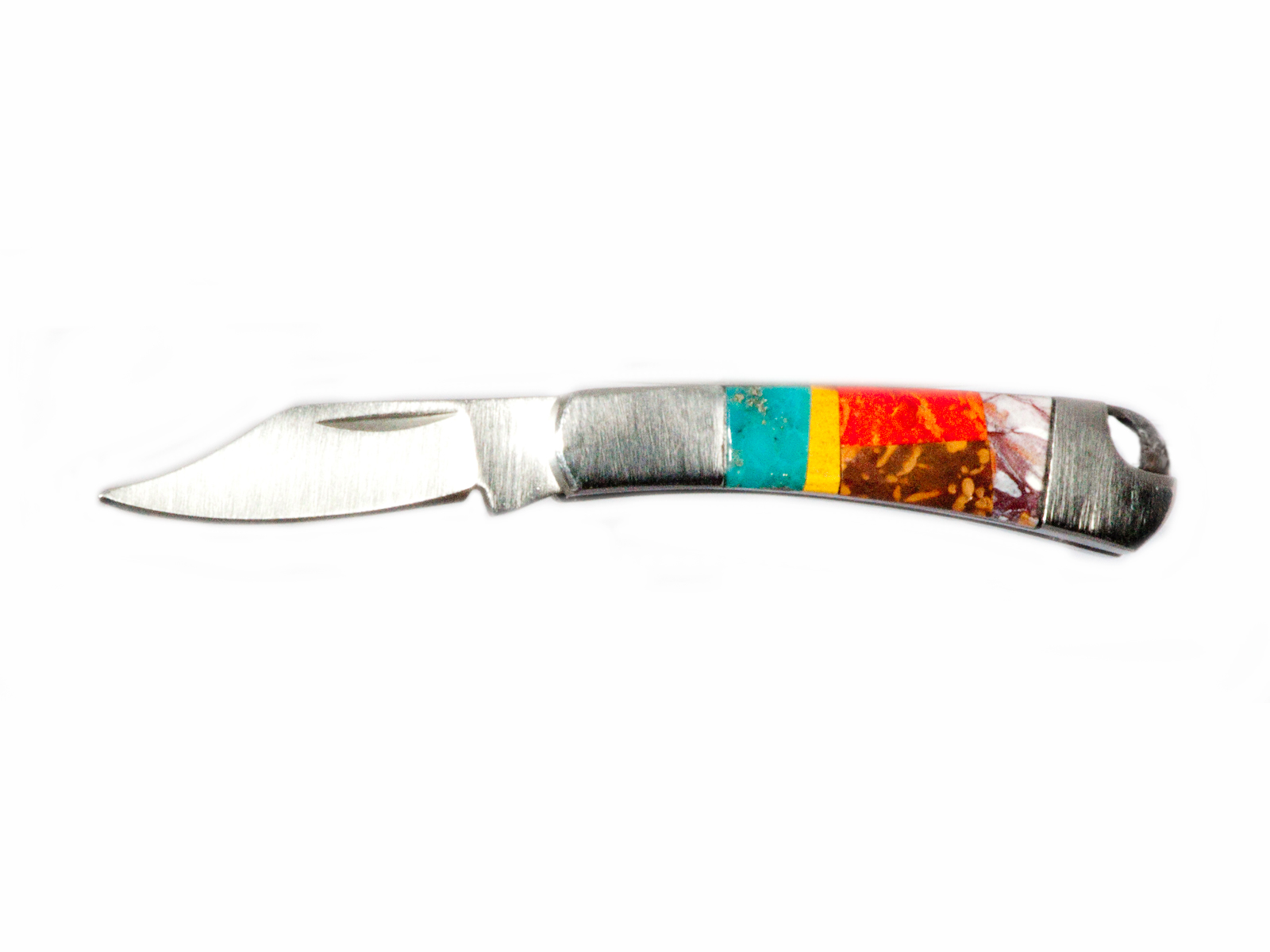 Multi Inlaid Pocket Knife
