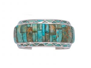 Natural Fox Turquoise Cuff