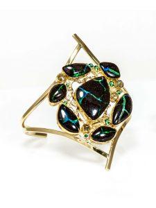 Boulder Opal Gold Bracelet
