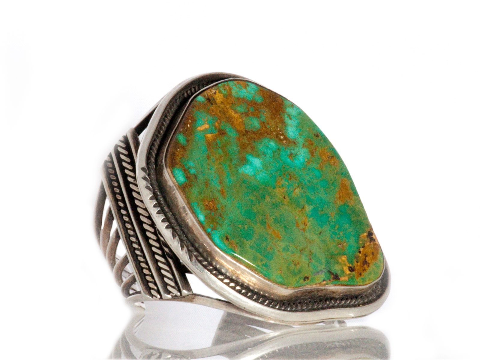 Large Royston Turquoise Cuff