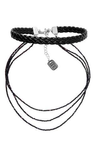Multi Strand Spinel Necklace